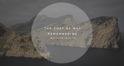 Sunday Talk! - The Cost of Not Remembering (01/10/21)