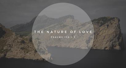 Sunday Talk! - The Nature of Love (10/25/2020)