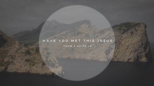 Sunday Talk! - Have You Met THIS Jesus? (06/27/21)