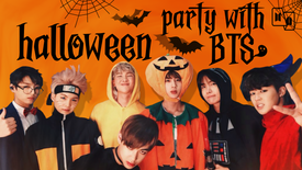 HALLOWEEN PARTY WITH BTS [PT-BR]