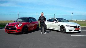 The Draw: BMW M4 vs Mini JCW