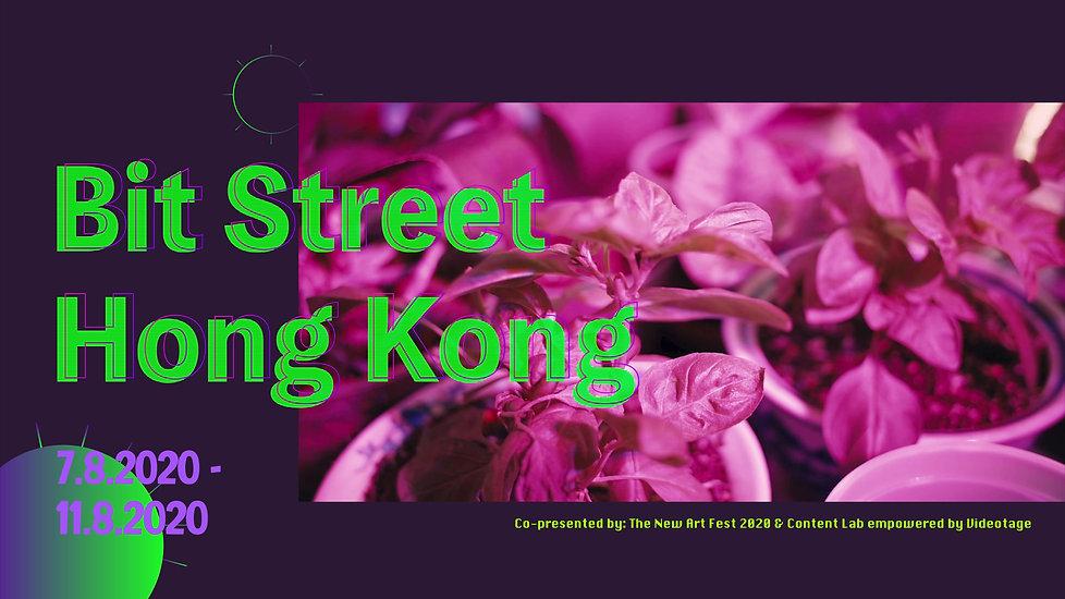 Videotage X The New Art Fest'20 | Bit Street Hong Kong