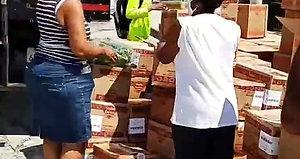 Pop Up Food Distribution