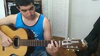 03 - Les comparto al genio de _rama.fernandez tocando un fragmento de _camino de las tropas_ de moscardini en su última clase