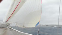 Xp-55 Cruising with 300 m2 asymmetrical spinnaker