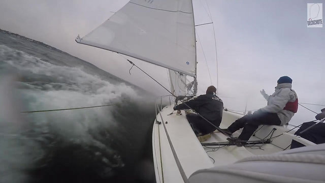 Single or shorthand Deckchute sailing