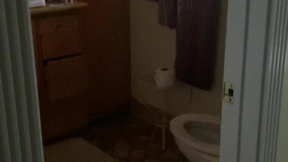 Bathroom Damage