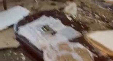 Dining Room Damage