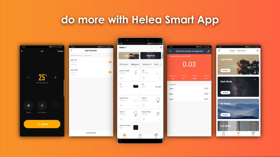 Introducing Helea Smart App