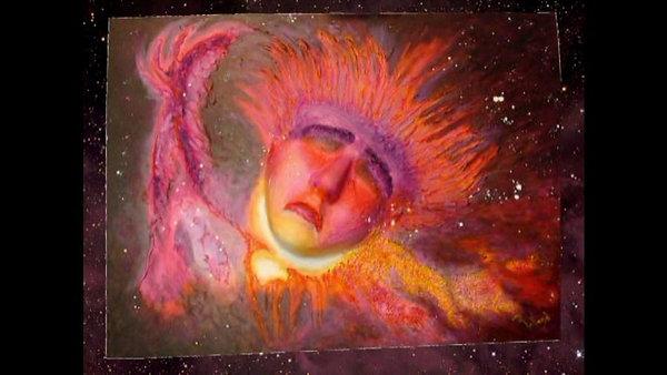 La chaîne de peintures cosmiques
