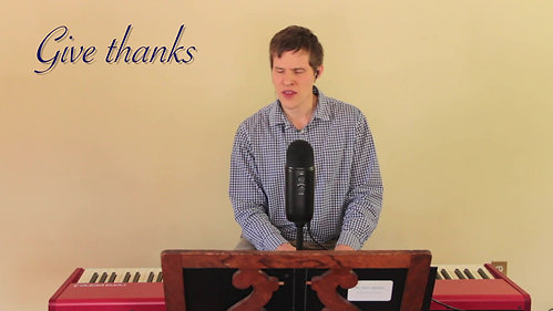 ICS Choir - Shout for Joy - Psalm 100