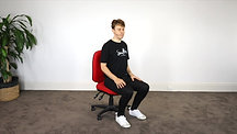 2. Seated Posture Exercise