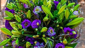 זר פרחים שמחת חיים ליליות, שושן וליזי