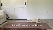 15 Min Pilates Legs + Booty