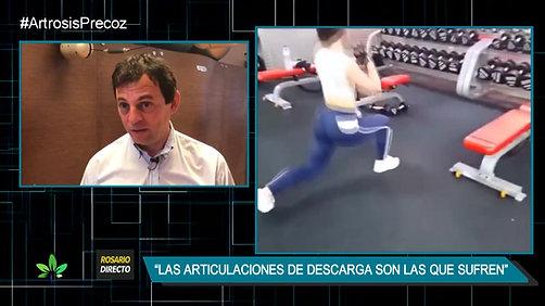 """Artrosis de cadera. Entrevistas """"Rosario Directo"""""""