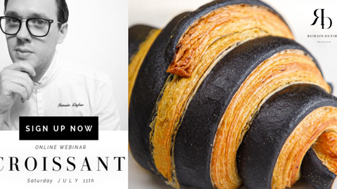 Chef Romain Dufour Laminated Dough Webinar Video Replay