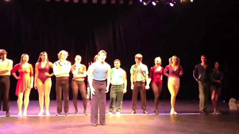 A Chorus Line- Mark, Conor Devoe