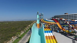 UP HILL WATERSLIDE