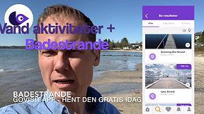 Badestrande, Friluftsbade og Badesøer i GoVisit app