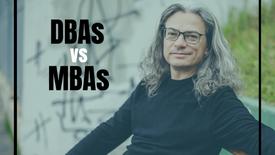 C1805R1N4 - DBAs vs MBAs