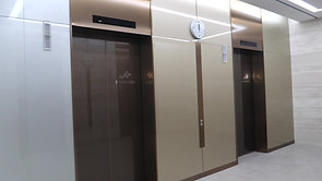 Mock_up 엘리베이터 홀