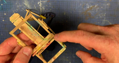 Build a 1:12 Artist Easel
