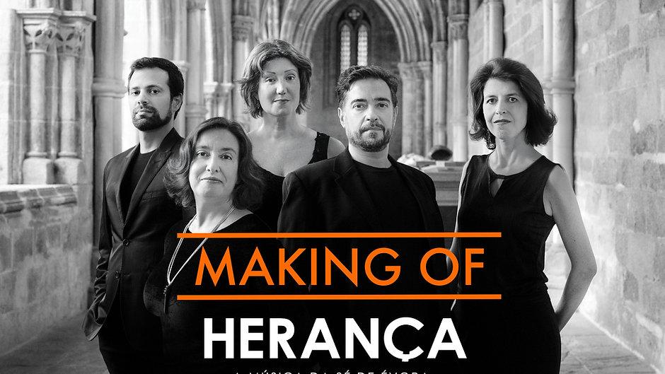 HERANÇA . making of