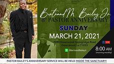 Sunday, March 14- Sunday Morning Worship