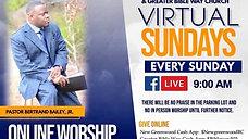 Sunday, Feb 21- Sunday Worship Live