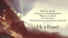 Sunday, April 4- Easter Sunday Live
