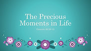 The Precious Moments in Life