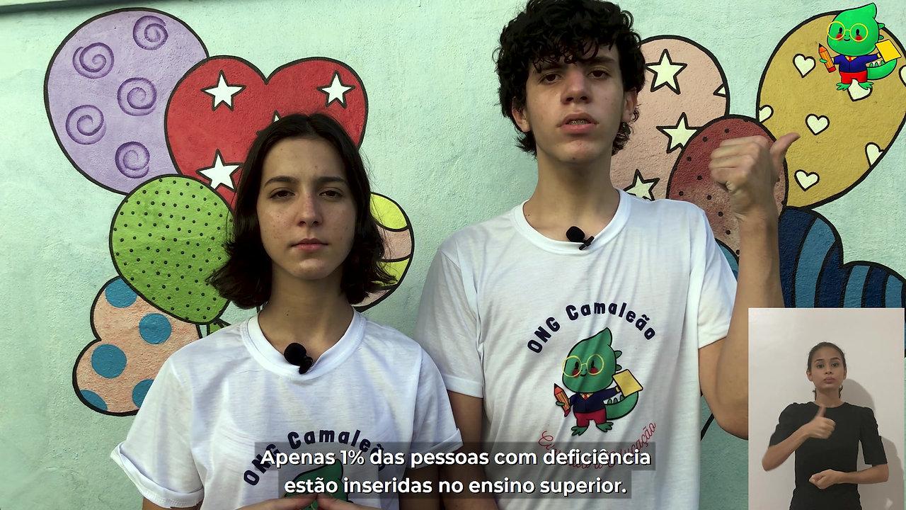 PITCH ONG Camaleão