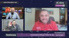 Seremi de Gobierno Luis Toledo en conversación con InterradioTV