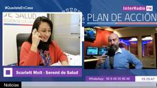 Entrevista a SEREMI de Salud - Scarlett Molt