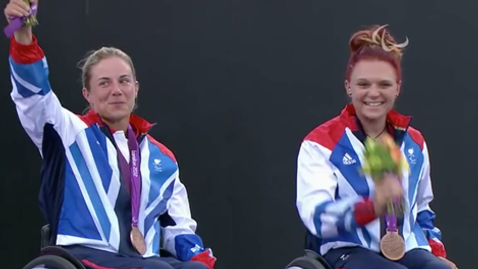 London 2012 Paralympic Games | Wheelchair Tennis - Women's Doubles Victory Ceremony