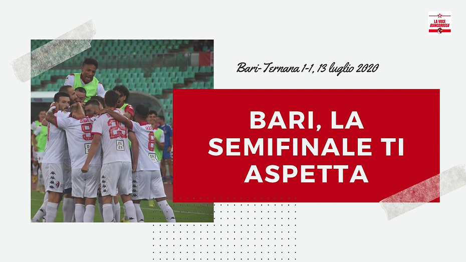 Bari-Ternana 1-1, 13 luglio 2020, Playoff