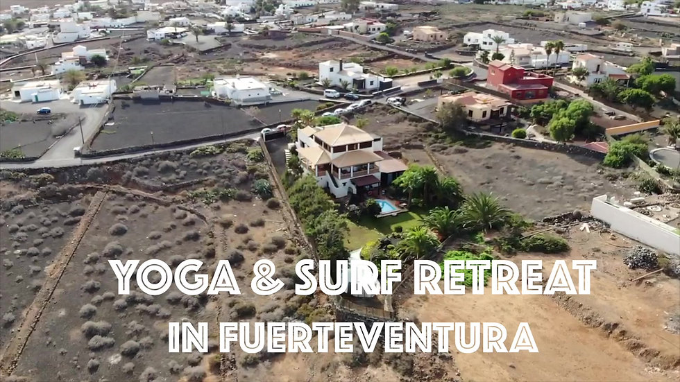 Yoga & Surf Retreat in Fuerteventura