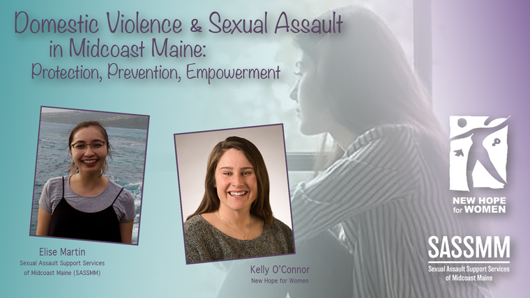 Domestic Violence and Sexual Assault in Midcoast Maine