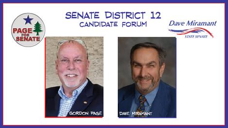 Maine Senate District 12 Candidate Forum