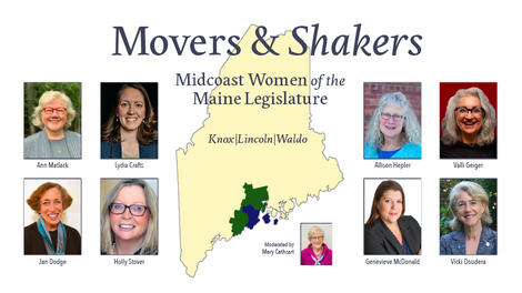 Movers & Shakers: The Midcoast Women of the Maine Legislature