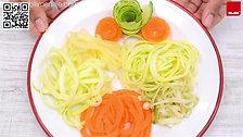 Sacapuntas Triple para Vegetales