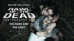 The Dark and the Light - Rawl of the Dead (goth photoshoot)