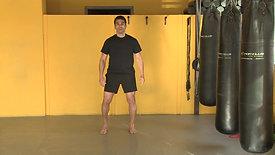 Split squat hop & switch