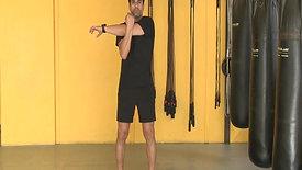 Horizontal arm stretch