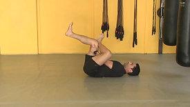 Figure four supine stretch