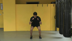 Squat with reverse lunge