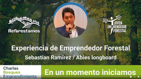 Joven Emprendedor Forestal - Sebastián Ramírez