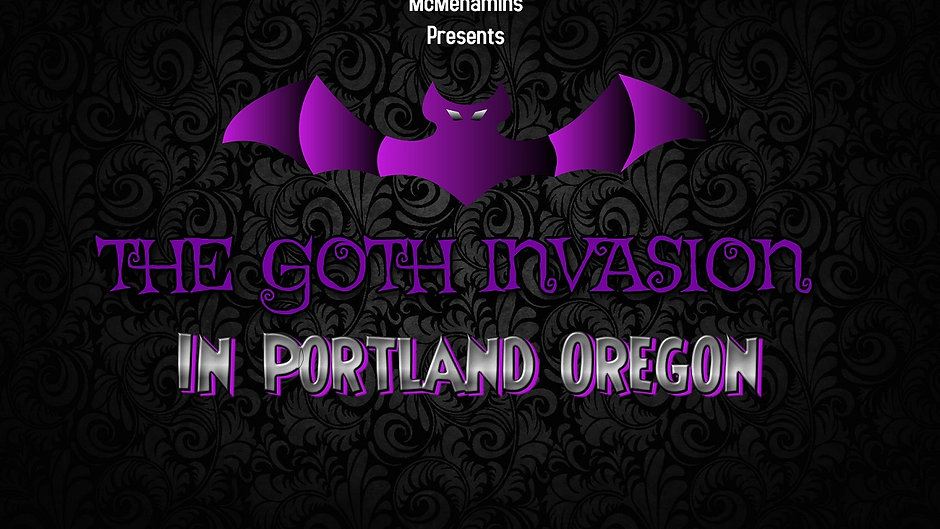 The Goth Invasion in PDX October 2021