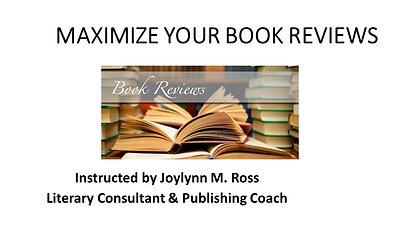 Maximize Your Book Reviews