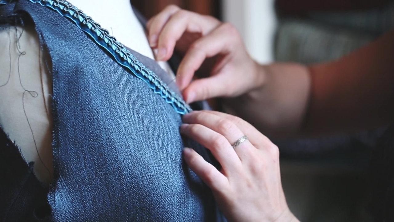 Création d'une robe du début à la fin   Grenoble - 2015